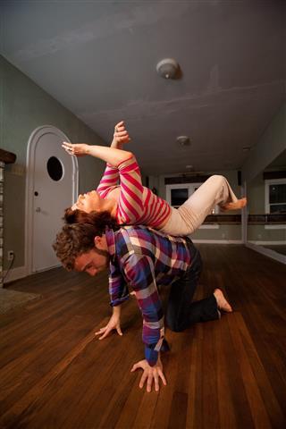 Contact Improv/Solo Dance Photoshoot at Guari Movement Studio